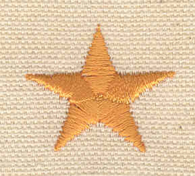 Embroidery Design: Star A 1.09w X 0.94h