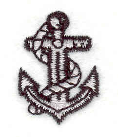 Embroidery Design: Anchor1.15w X 0.82h