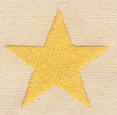 Embroidery Design: Star B 2.28w X 2.12h