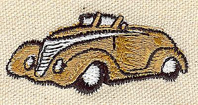 Embroidery Design: Vintage car 2.37w X 1.07h