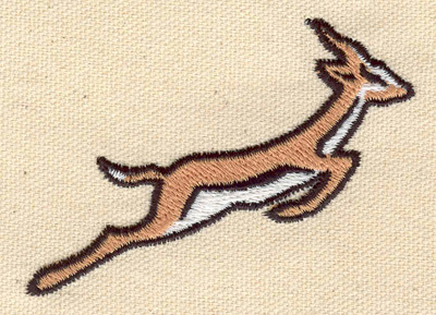 Embroidery Design: Antelope  3.01w X 2.25h