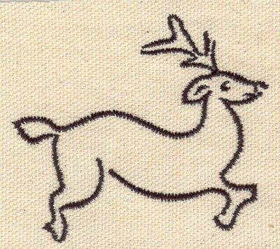 Embroidery Design: Deer F   2.59w X 2.25h