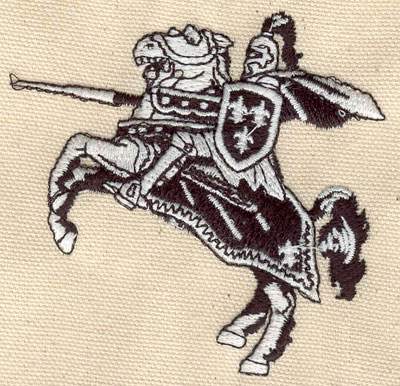 Embroidery Design: Knight B 3.15w X 3.24h