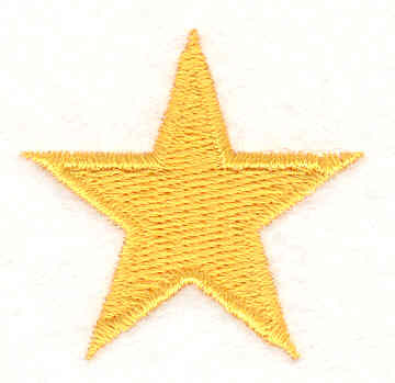 Embroidery Design: Star1.54w X 1.50h