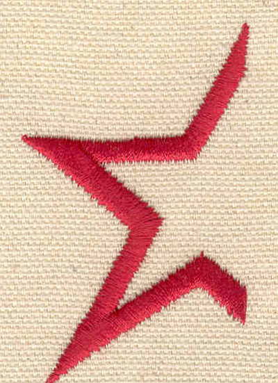Embroidery Design: Star C 2.31w X 1.45h