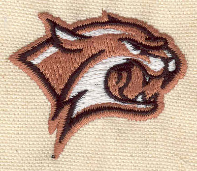 Embroidery Design: Wildcat A 1.67w X 2.02h