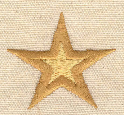 Embroidery Design: Star D 1.80w X 2.02h