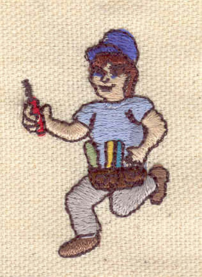 Embroidery Design: Electrician 1.78w X 1.16h