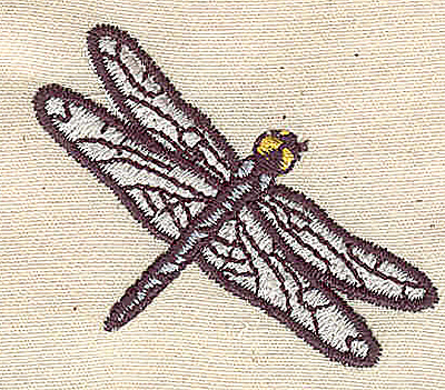 Embroidery Design: Dragonfly 1.58w X 1.91h