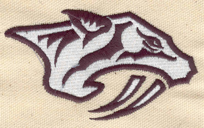 Embroidery Design: Sabrer-tooth tiger 2.06w X 3.60h