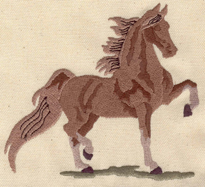Embroidery Design: Horse prancing 4.62w X 4.95h