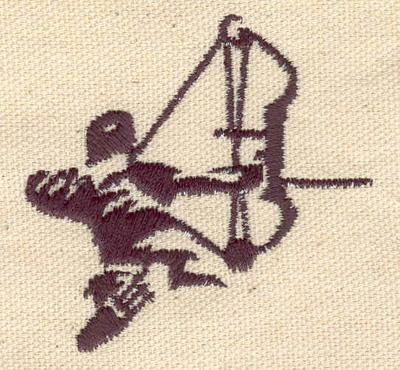 Embroidery Design: Archer 2.36w X 2.34h