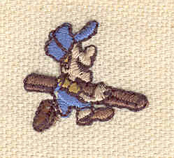 Embroidery Design: Builder 0.80w X 0.86h