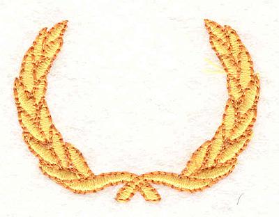 "Embroidery Design: Wreath 11 1.89"" X 1.42"""