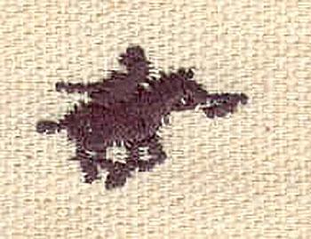 Embroidery Design: Knight mini 0.50w X 0.72h