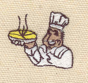 Embroidery Design: Baker 0.97w X 1.18h
