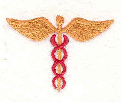 Embroidery Design: Medical Symbol 1 1.93w X 1.39h