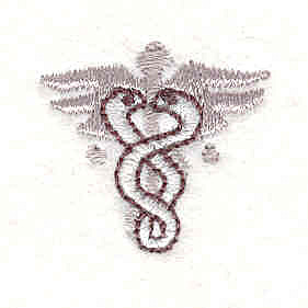 Embroidery Design: Medical Symbol 2 1.00w X 0.94h