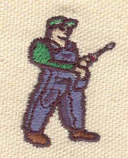 Embroidery Design: Carpenter1.30w X 2.94h