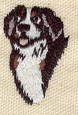 Embroidery Design: Dog B 1.00w X 1.50h