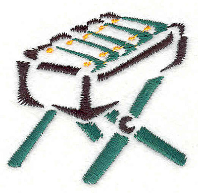 "Embroidery Design: Xylophone 2.30"" X 2.46"""