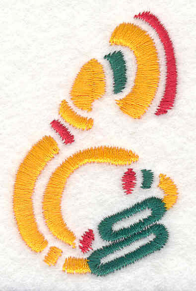 "Embroidery Design: Tuba 2.71"" X 1.70"""