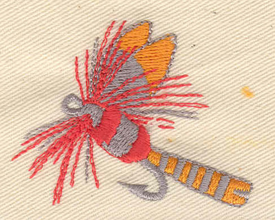 Embroidery Design: Fishing Lure 2.12w X 1.70h