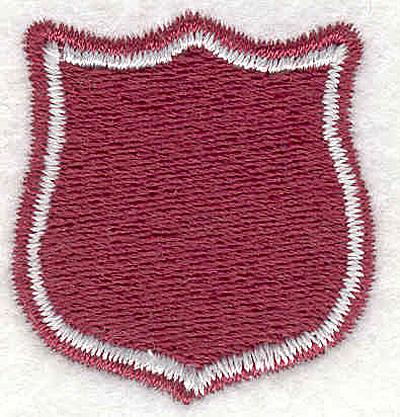 "Embroidery Design: Crest1.30""x1.25"""