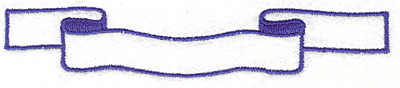 """Embroidery Design: Banner 40.87"""" x 4.67"""""""
