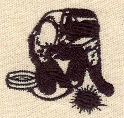 Embroidery Design: Welder 2.28w X 2.17h