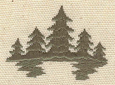 Embroidery Design: Evergreens C 2.00w X 1.50h