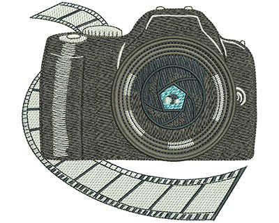 Embroidery Design: Photography Club Lg 4.51w X 4.22h