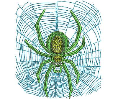 Embroidery Design: Halloween Spider Lg 3.98w X 4.50h