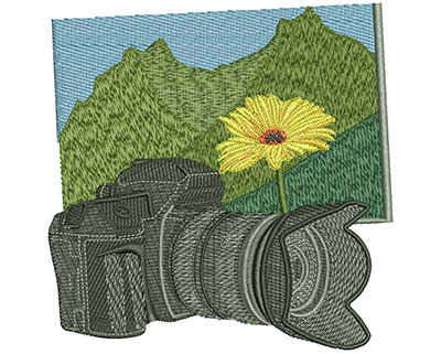Embroidery Design: School Photo Club Lg 4.51w X 4.54h