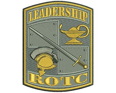Embroidery Design: Leadership ROTC Sm 2.72w X 3.52h