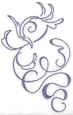 Embroidery Design: Art Deco 101 4.27w X 6.65h