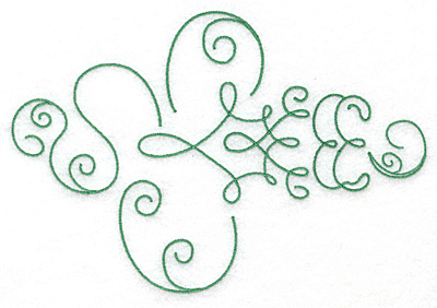 Embroidery Design: Art Deco 103  6.83w X 4.65h