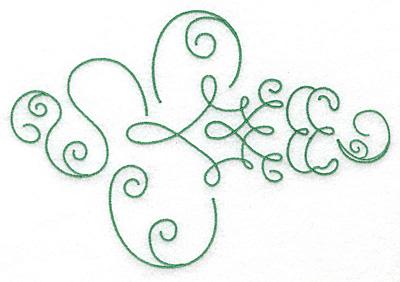 Embroidery Design: Art Deco 103  6.83w X 4.65h