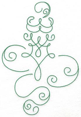 Embroidery Design: Art Deco 104 9.55w X 6.50h