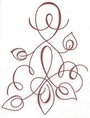 Embroidery Design: Art Deco 106 9.12w X 6.94h