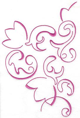Embroidery Design: Art Deco 108 9.64w X 6.29h