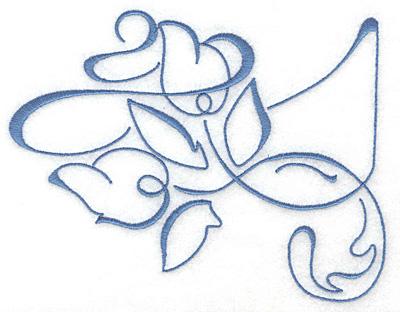Embroidery Design: Art Deco 109 6.32w X 4.82h