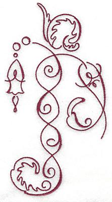 Embroidery Design: Art Deco 111 3.46w X 6.53h