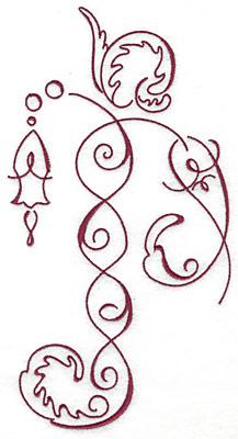 Embroidery Design: Art Deco 112 9.14w X 4.84h