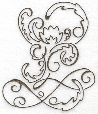 Embroidery Design: Art Deco 113 5.45w X 6.41h