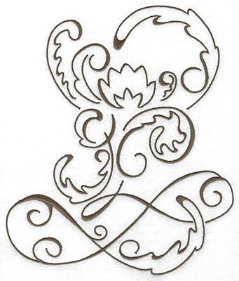 Embroidery Design: Art Deco 114 8.65w X 7.36h