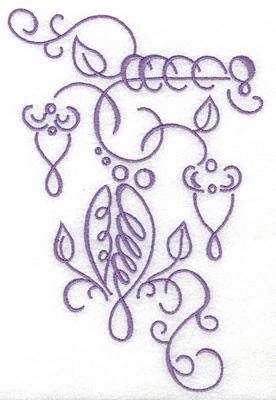 Embroidery Design: Art Deco 115 4.31w X 6.46h