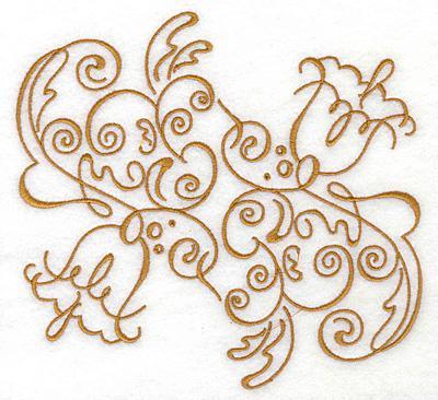 Embroidery Design: Art Deco 117 6.29w X 5.99h