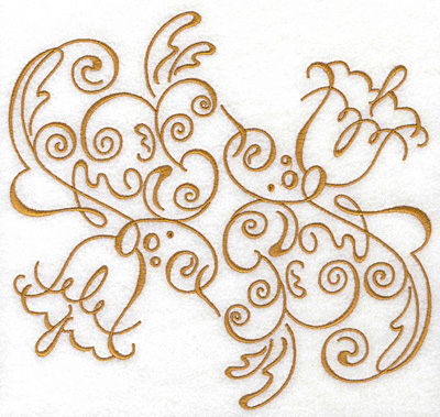 Embroidery Design: Art Deco 118 7.85w X 7.48h