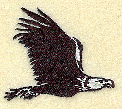Embroidery Design: American Eagle in flight small 2.94w X 2.47h